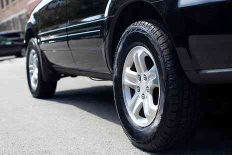 Take That Car Hire - Tyre With Fitting  - Save 23%