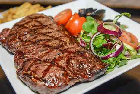 Carters Coventry - Two Course Steak Meal With Wine or Beer For Two - Save 46%