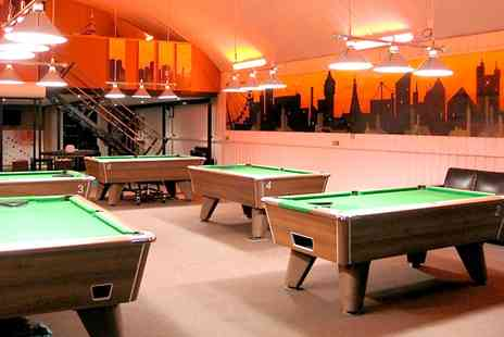 Spots & Stripes - Three Hours of Pool Plus Beers For Two - Save 67%