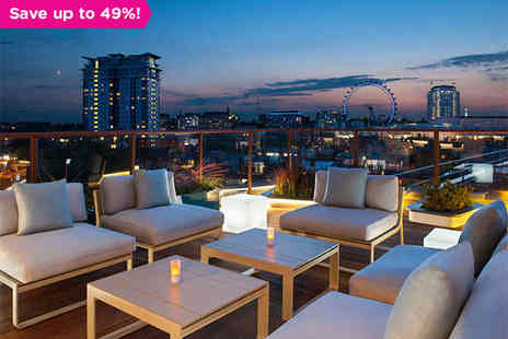 H10 London Waterloo - Overnight Stay for Two People with Three Course Meal in Double Room  - Save 49%