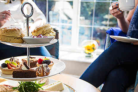The Stanneylands Hotel - Double AA Rosette Afternoon Tea with Prosecco for Two  - Save 36%