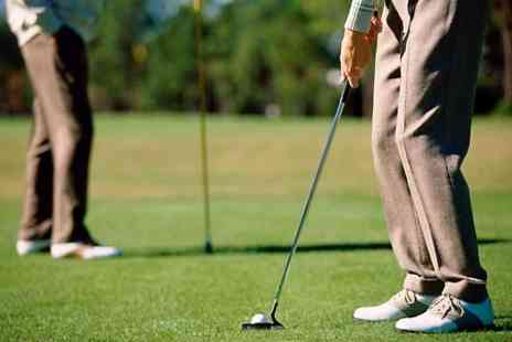 Gordon Morrison Golf - One Hour Golf Tuition With Video Analysis - Save 49%