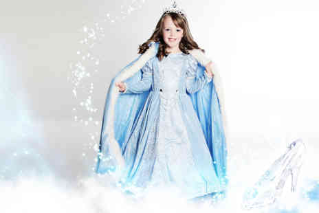 Love Exclusive - Cinderella or Frozen inspired makeover photoshoot and prints - Save 94%