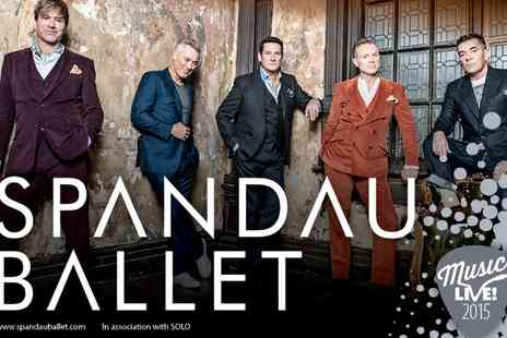 VMS Live 2011 - Ticket  to Spandau Ballet Live and Race Day For an Adult - Save 0%