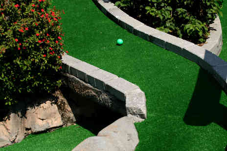 Off Limits - 45 Minutes of Crazy Golf for Two or Four  - Save 50%