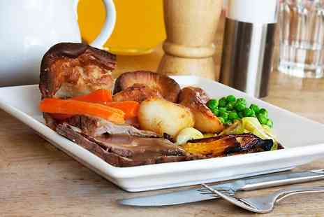 The Plough Inn Stathern - Two Course Sunday Carvery With Wine For Two - Save 30%