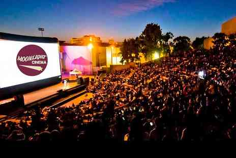 The Moonlight Cinema -  Open Air Movie Ticket to The Moonlight Cinema For One - Save 40%