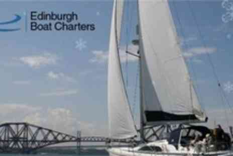 Edinburgh Boat Charters - Luxury Bridges and Islands Sailing Experience For Two in Edinburgh - Save 63%