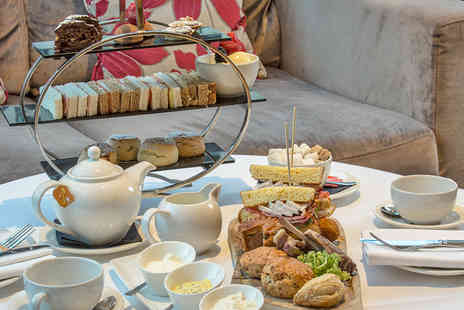 Kensington Close Hotel - Traditional Afternoon Tea with an Optional Glass of Champagne for Two  - Save 45%