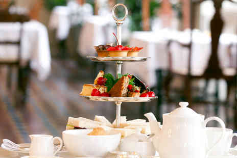 The Hotel Collection - Sumptuous Afternoon Tea with Sparkling Wine for Two - Save 38%