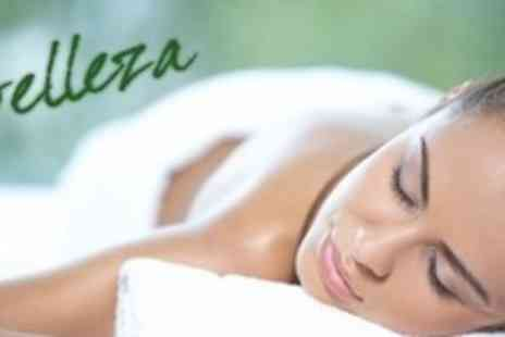 Belleza Spa - One Hour Massage With 45 Minute Facial Plus Body Wrap For One - Save 78%
