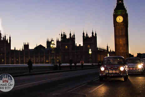 Small car big city - Landmarks Tour in a Classic Mini Cooper - Save 0%