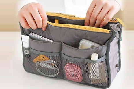 Fashion Sparkles 4 U - One or Two Multi Pocket Travel Bags - Save 78%