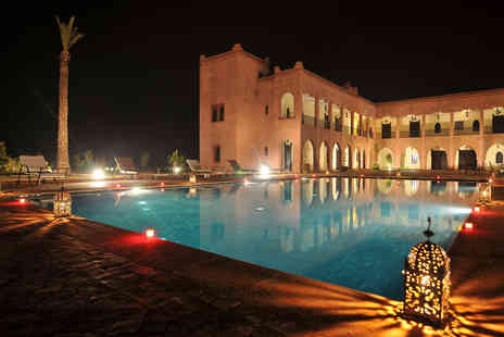 Kasbah Caracalla - Luxury half board Morocco break for up to two adults and one child   - Save 59%