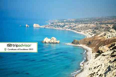 The UK Flights - Seven night Paphos break including breakfast and return flights   - Save 36%