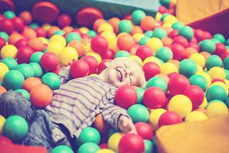 Crazy Club Soft Play - Entry to Crazy Club Soft Play and Meal Plus Two Adults - Save 0%