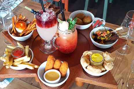 The Toy Shop Bar - Sharing Platter and Cocktails For Two - Save 50%