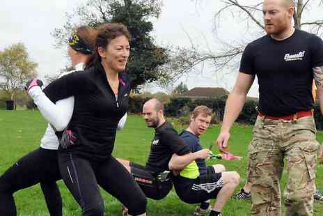 Elements Outdoor Military Fitness - Ten Sessions of  Boot Camp - Save 62%