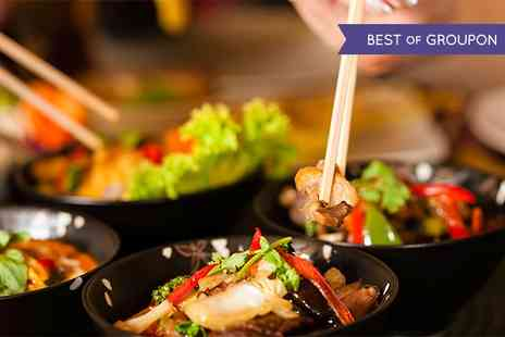 Tuk Tuk Asian Bar - Two Course Asian Fusion and Bellini For Two - Save 52%