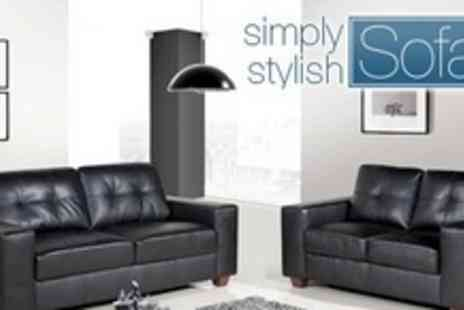 Simply Stylish Sofas - Richmond Two Seater - Save 64%
