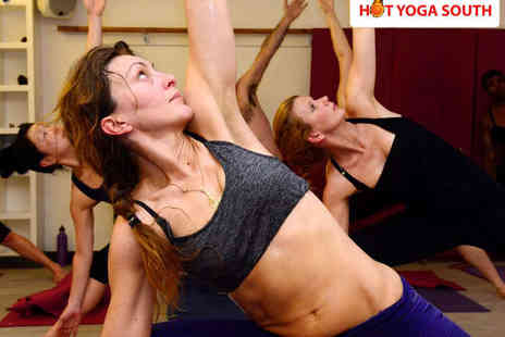 Hot Yoga South - Ten Bikram Yoga Classes - Save 79%