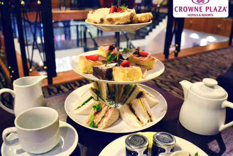 Crowne Plaza Hotel - Afternoon Tea for Two  - Save 0%