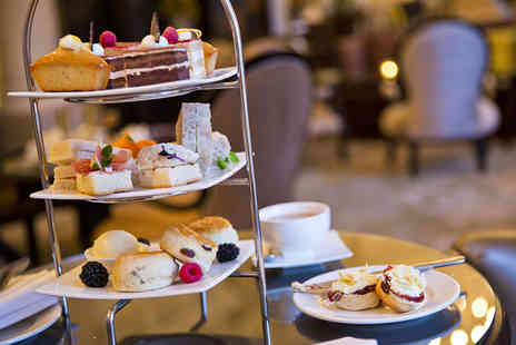 The Grosvenor Hotel - Afternoon Tea with Optional Champagne for Two - Save 50%