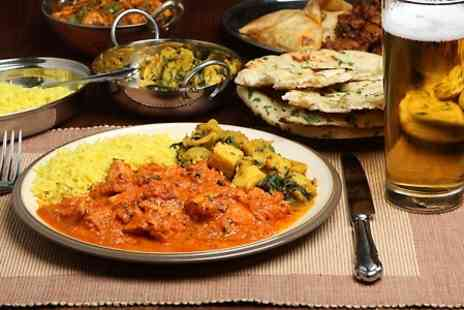 Masalaz - Indian Meal With Sides and Beer For One - Save 40%