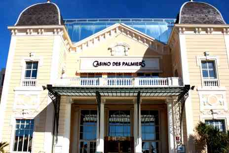 Hotel Casino des Palmiers - One, Three or Six Nights stay on the Cote d Azur, with half board, welcome drink & casino credit - Save 54%