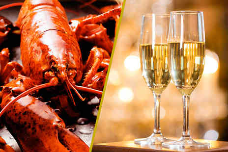 Shikumen - 650g whole lobster to share between two including a glass of Champagne and dessert each  - Save 56%
