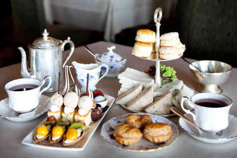 The Hotel Collection - Traditional Afternoon Tea with Sparkling Wine for Two  - Save 38%