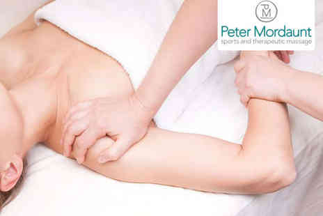 Peter Mordaunt - Hour Long Sports Massage - Save 58%