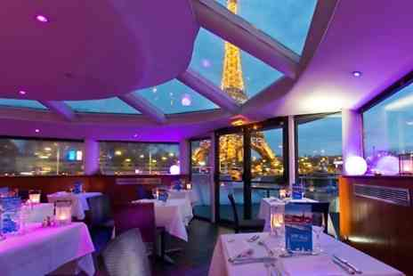 VIP Paris Yacht Hotel - Cruise For 2 With Dinner And Live Music Plus One or Two Night Stay  - Save 0%