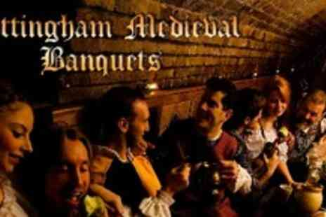 Nottingham Medieval Banquets - Four Course Medieval Banquet For Six With Entertainment - Save 53%