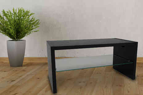 Brown Source - Madison Black Coffee Table - Save 0%
