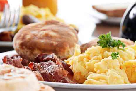 Vines Coffee Shop - Full English Breakfast For Two - Save 48%