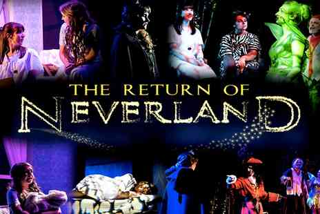 JDG Productions - Individual or family ticket to The Return of Neverland - Save 33%