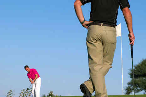 Breedon Priory Golf Centre - Round of Golf for Two  - Save 50%