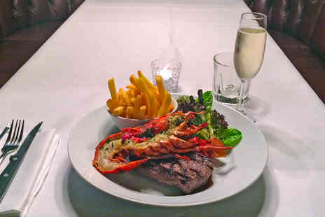 Mayfair Exchange - Central London Steak and Lobster Dining with French Fries and Champagne - Save 45%