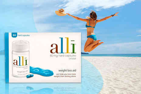 Chemist Direct - Four week supply of Alli weight management supplements - Save 22%