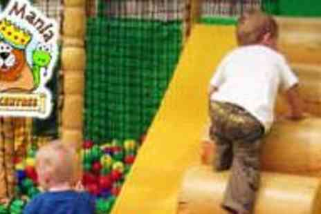 Jungle Mania - Admission to Jungle Mania for Two Children - Save 53%