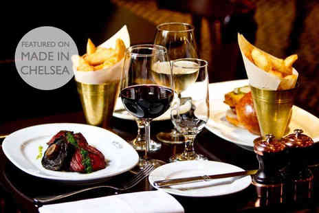 Reform Social and Grill - Steak or lobster burger with fries & bottle of wine for Two  - Save 51%