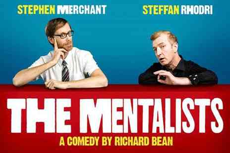 Shows In London - Band A ticket to see The Mentalists starring Stephen Merchant and Steffan Rhodri  - Save 31%