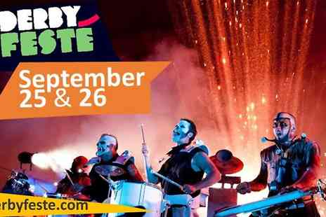Derby Feste 2015 - One Tickets for Derby Festé 2015 - Save 50%