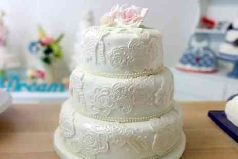 Vanilla Nova - Tiered Wedding Cake  - Save 52%