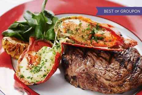 Boisdale Canary Wharf - Steak and Lobster Meal With Prosecco For Two - Save 53%
