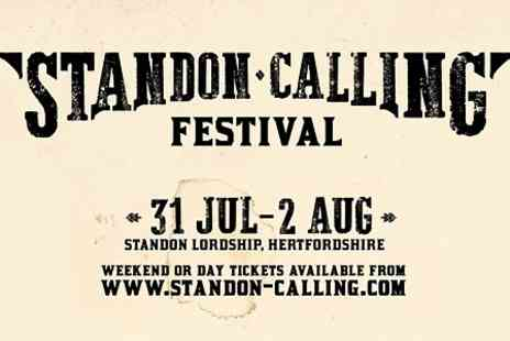 Robomagic Live - Day Ticket to Standon Calling For an Adult  - Save 0%