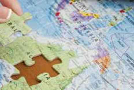 Maps International - 500 Piece World Map Jigsaw with Delivery - Save 52%