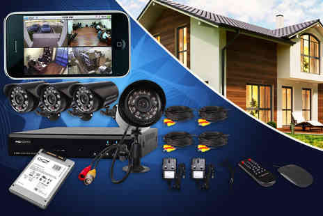 Eurosfield Maptrak - DVR 600TVL home CCTV surveillance system  - Save 59%