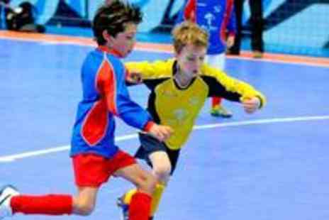 Futsal - Childrens football party for up to 10 children - Save 79%
